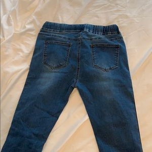 American Bazi Jeans - Striped Leg Forever 21 Jeans